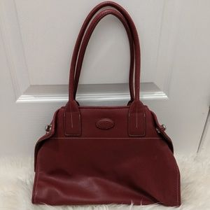 Tods Red Purse